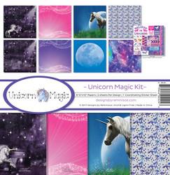 Reminisce Unicorn Magic -paperipakkaus 12