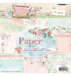 Studio Light paperikko Lovely Moments  nr. 124