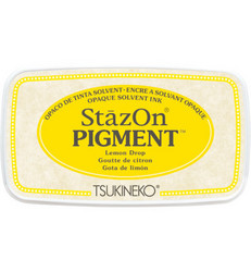 StazOn Pigment -mustetyyny, sävy Lemon Drop