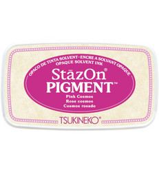 StazOn Pigment -mustetyyny, sävy Pink Cosmos
