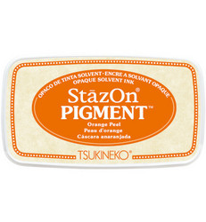 StazOn Pigment -mustetyyny, sävy Orange Peel