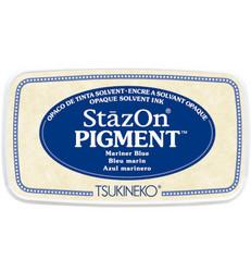 StazOn Pigment -mustetyyny, sävy Mariner Blue