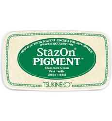 StazOn Pigment -mustetyyny, sävy Shamrock Green