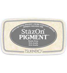 StazOn Pigment -mustetyyny, sävy Koala Gray