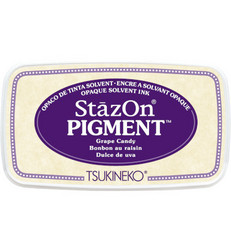 StazOn Pigment -mustetyyny, sävy Grape Candy