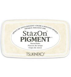 StazOn Pigment -mustetyyny, sävy Snowflake