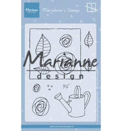 Marianne Design Marjoleine's Roses -leimasinsetti