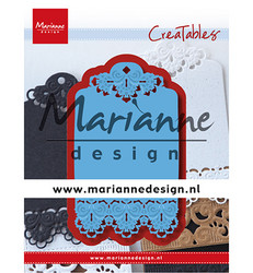 Marianne Design stanssi Brocante Label