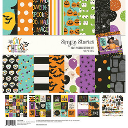 Simple Stories Say Cheese Halloween Collection Kit -paperipakkaus, 12