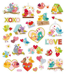 Sticker King tarrat Bird Love