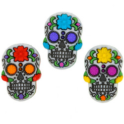 Dress It Up napit Sugar Skulls