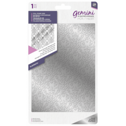 Gemini Foil Stamp Die -kuviolevy Royal Damask Background