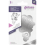 Gemini Foil Stamp Die -kuviolevy Trailing Heart