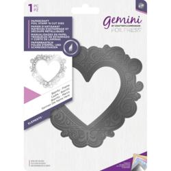 Gemini Foil Stamp 'N' Cut Die - leikkaava kuviolevy Biarritz Frame