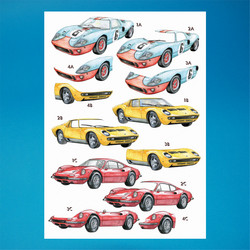 Sports Cars -3D-kuvat