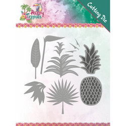 Yvonne Creations Happy Tropics stanssisetti Lush Leaves