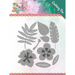 Yvonne Creations Happy Tropics stanssisetti Tropical Blooms