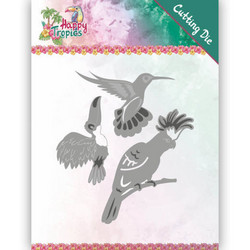 Yvonne Creations Happy Tropics stanssisetti Exotic Birds