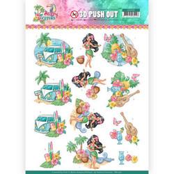 Yvonne Creations Happy Tropics 3D-kuvat Tropical Holiday