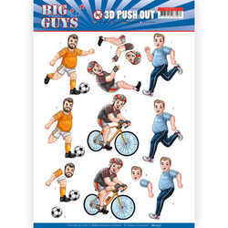 Yvonne Creations Big Guys 3D-kuvat Sports