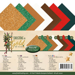 Amy Design kartonkipakkaus Christmas in Gold