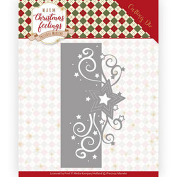 Precious Marieke Warm Christmas Feelings stanssi Swirl Star Edge