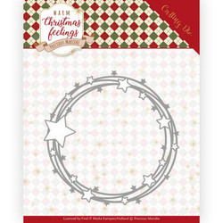 Precious Marieke Warm Christmas Feelings stanssi Star Circle