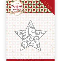 Precious Marieke Warm Christmas Feelings stanssi Swirl Star