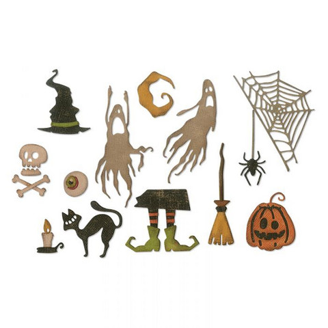 Sizzix Tim Holtz Thinlits stanssisetti Frightful Things