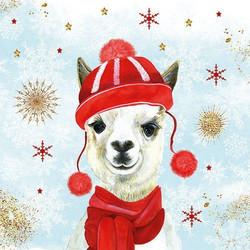 Servetti Winter Llama, 5 kpl