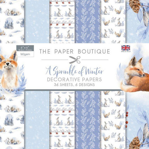 The Paper Boutique paperikko A Sprinkle of Winter