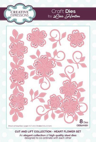 Creative Expressions stanssisetti Cut and Lift Star Flower