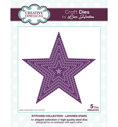Creative Expressions stanssisetti Layered Stars