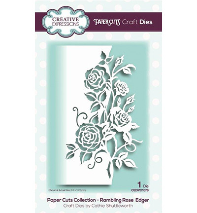 Creative Expressions stanssi Rambling Rose Edger
