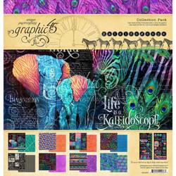 Graphic 45 -paperipakkaus Kaleidoscope, 12