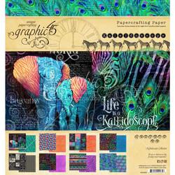 Graphic 45 -paperipakkaus Kaleidoscope, 8