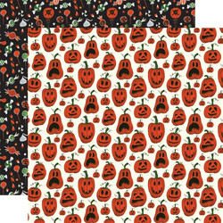 Echo Park Trick or Treat skräppipaperi Pumpkins