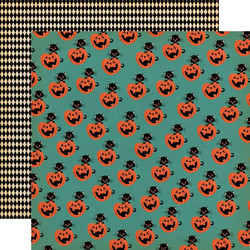 Carta Bella Happy Halloween skräppipaperi Toil and Trouble