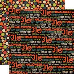 Carta Bella Happy Halloween skräppipaperi All Hallows Eve