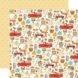 Carta Bella Fall Market skräppipaperi Happy Harvest