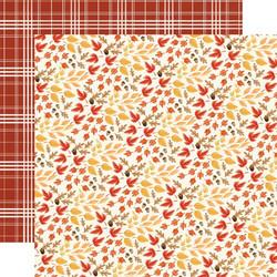 Carta Bella Fall Market skräppipaperi Rustling Leaves