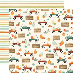 Carta Bella Fall Market skräppipaperi Wagon Time