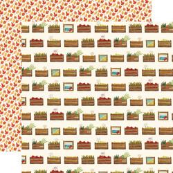 Carta Bella Fall Market skräppipaperi Harvest Crates