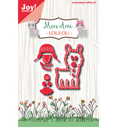 Joy! Crafts Mon Ami stanssisetti Llama Loulou