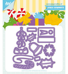 Joy! Crafts Mon Ami stanssisetti Jingle Ornaments
