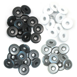 We R Eyelets Wide, sirkat, 40 kpl, harmaa