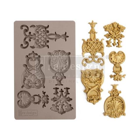Prima Re-Design Decor Mould -muotti Regal Emblems