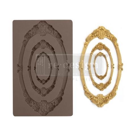 Prima Re-Design Decor Mould -muotti Sicily Frame
