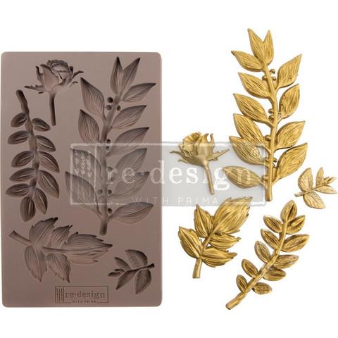 Prima Re-Design Decor Mould -muotti Leafy Blossoms