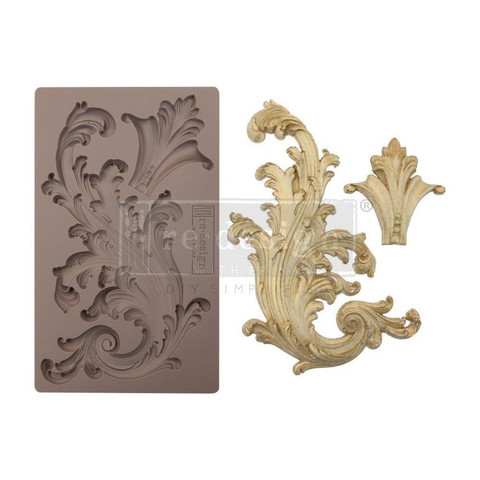Prima Re-Design Decor Mould -muotti Portico Scroll II